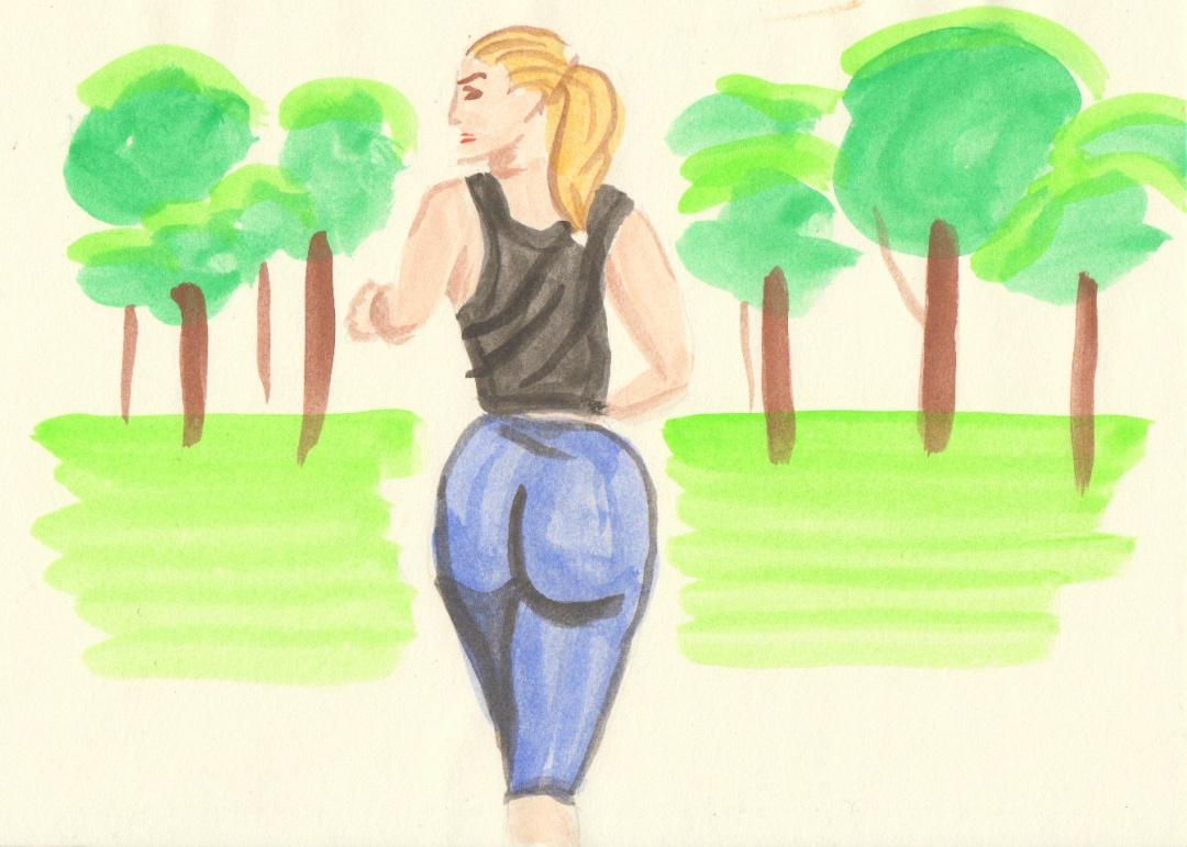voluptuous jogger