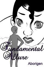 Fundamental Allure: cover shows a tiny naked man presenting himself to an enormous, shocked woman.